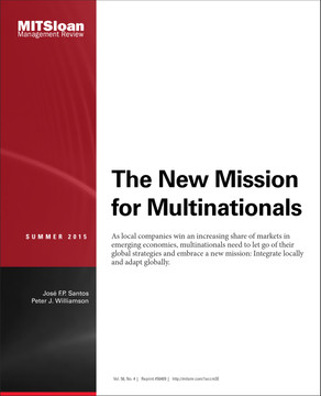 The New Mission for Multinationals