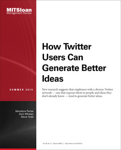 How Twitter Users Can Generate Better Ideas
