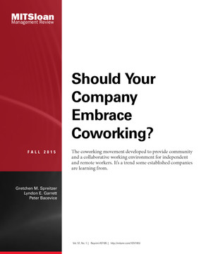 Should Your Company Embrace Coworking?