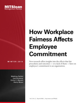 How Workplace Fairness Affects Employee Commitment