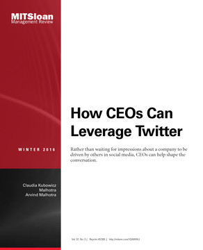 How CEOs Can Leverage Twitter