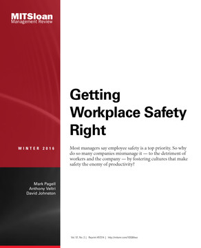 Getting Workplace Safety Right