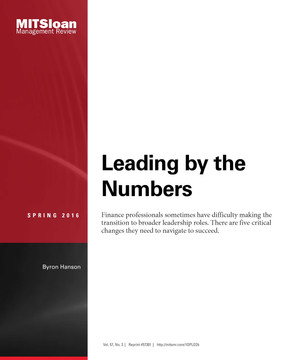 Leading by the Numbers