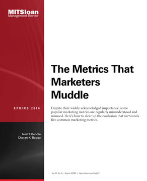The Metrics That Marketers Muddle