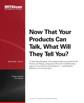 Now That Your Products Can Talk, What Will They Tell You?