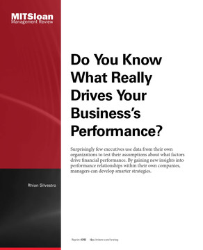 Do You Know What Really Drives Your Business's Performance?