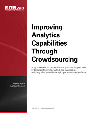 Improving Analytics Capabilities Through Crowdsourcing