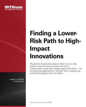 Finding a Lower-Risk Path to High-Impact Innovations