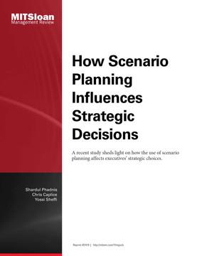 How Scenario Planning Influences Strategic Decisions