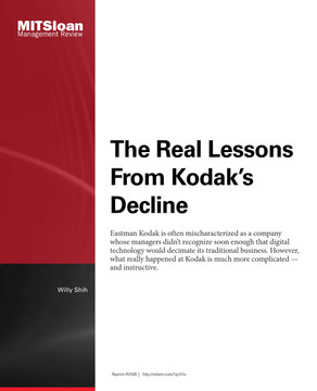 The Real Lessons From Kodak's Decline
