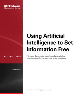 Using Artificial Intelligence to Set Information Free