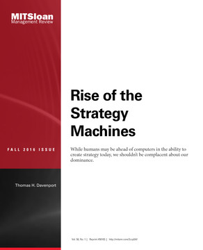 Rise of the Strategy Machines