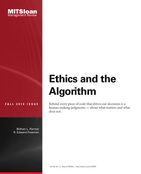 Ethics and the Algorithm
