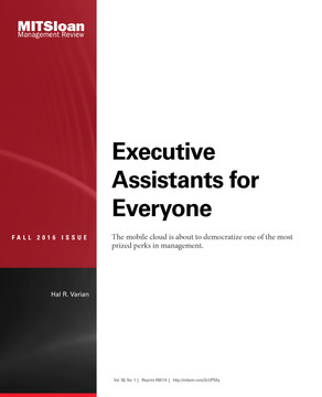Executive Assistants for Everyone