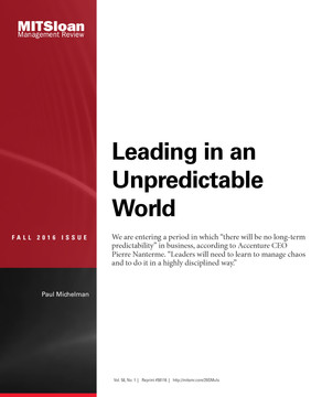 Leading in an Unpredictable World
