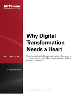 Why Digital Transformation Needs a Heart