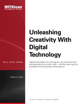 Unleashing Creativity with Digital Technology