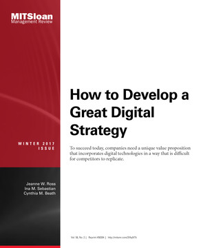 How to Develop a Great Digital Strategy