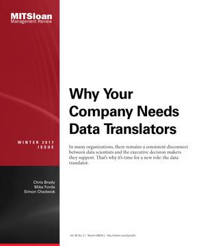Why Your Company Needs Data Translators