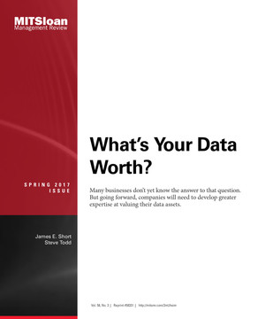 What's Your Data Worth?