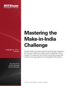 Mastering the Make-in-India Challenge