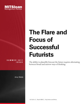 The Flare and Focus of Successful Futurists