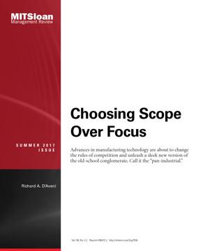 Choosing Scope Over Focus