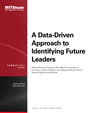 A Data-Driven Approach to Identifying Future Leaders