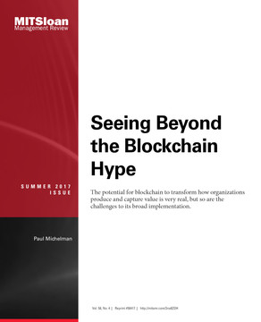 Seeing Beyond the Blockchain Hype