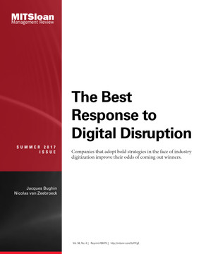 The Best Response to Digital Disruption
