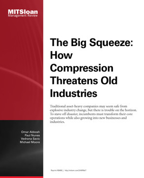 The Big Squeeze: How Compression Threatens Old Industries