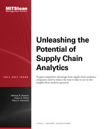Cover of Unleashing the Potential of Supply Chain Analytics