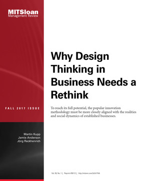 Why Design Thinking in Business Needs a Rethink