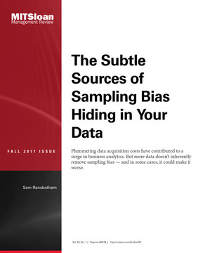 The Subtle Sources of Sampling Bias Hiding in Your Data