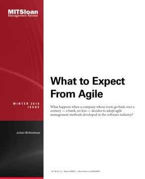 What to Expect From Agile