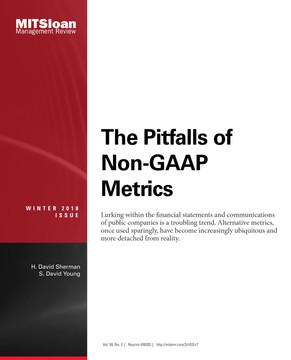The Pitfalls of Non-GAAP Metrics