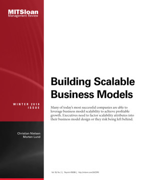 Building Scalable Business Models