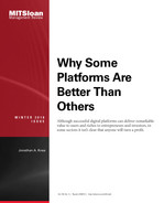 Cover of Why Some Platforms Are Better Than Others