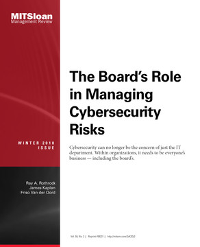 The Board's Role in Managing Cybersecurity Risks