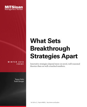 What Sets Breakthrough Strategies Apart