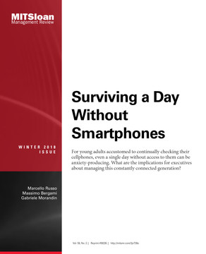 Surviving a Day Without Smartphones