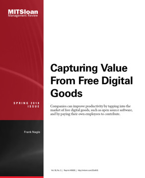 Capturing Value from Free Digital Goods