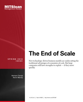 The End of Scale