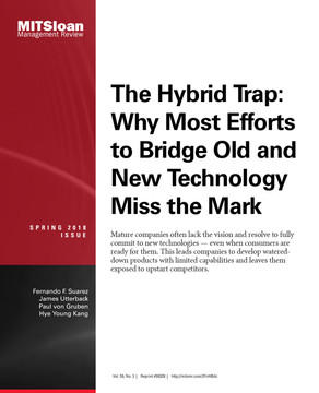 The Hybrid Trap: Why Most Efforts to Bridge Old and New Technology Miss the Mark