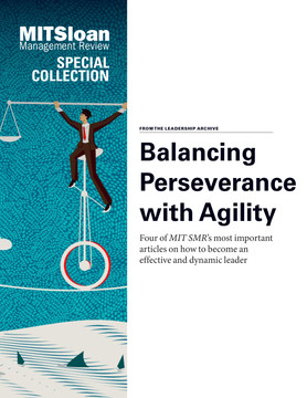 Balancing Perseverance with Agility