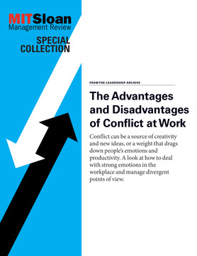 The Advantages and Disadvantages of Conflict at Work
