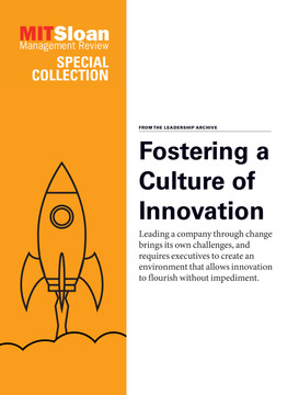 Fostering a Culture of Innovation