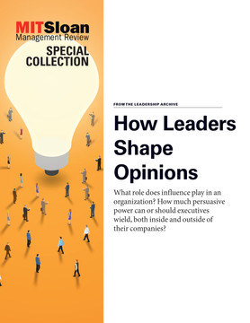 How Leaders Shape Opinions