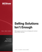 Cover of Selling Solutions Isn't Enough