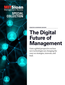 The Digital Future of Management